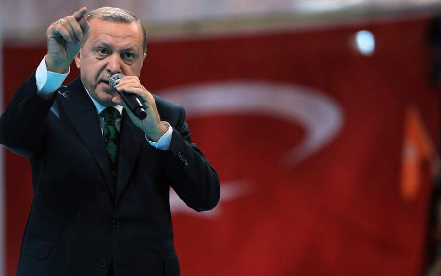 Η κριτική στον Ερντογάν έφερε «μαύρο» 5 ημερών σε τουρκικό κανάλι