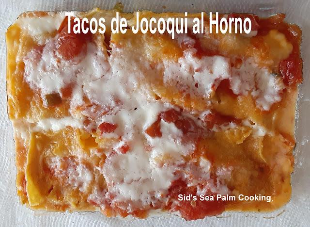 Tacos de Jocoqui al Horno