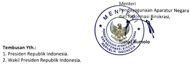 Surat Edaran MENPAN RB Nomor 19 Tahun 2020