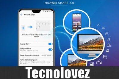 Huawei Share 20 Come Trasferire File Tra Smartphone E Pc