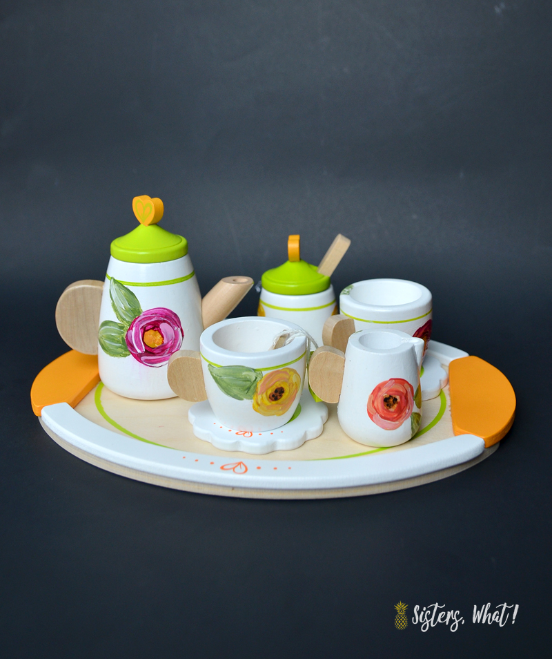 how to make kids tea set