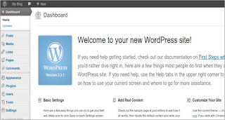 Create a blog by wordpress