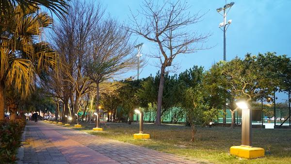 鹿港體育場增設夜間投影照明 展現城市獨特魅力