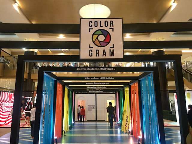 #DaviesColorsSMCityCebu - Color Gram at SM City Cebu