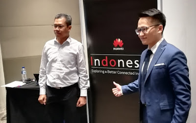 Vanness Yew dan Rosidi, Huawei Indonesia