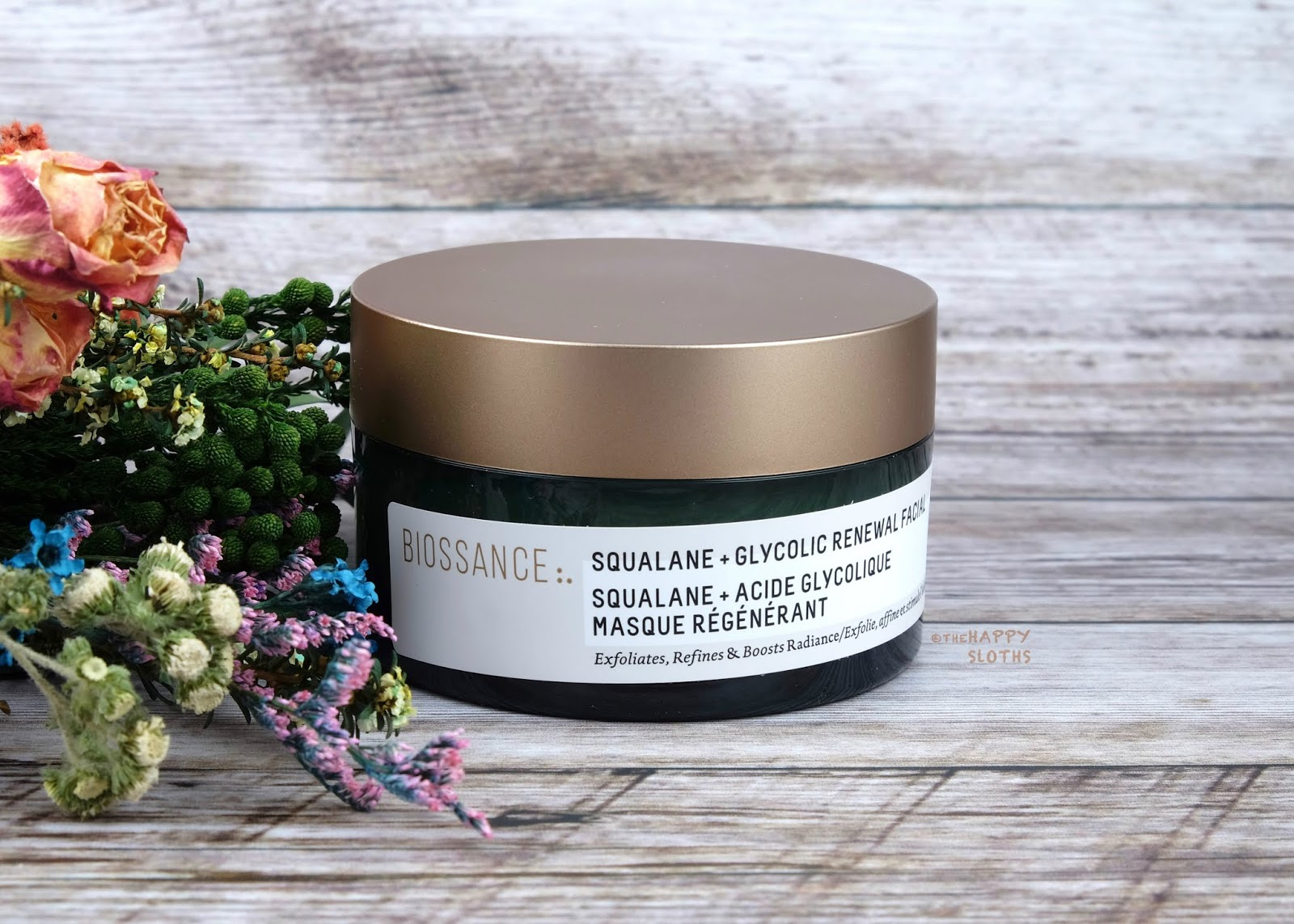 Biossance | Squalane + Glycolic Renewal Facial: Review