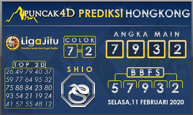 PREDIKSI TOGEL HONGKONG PUNCAK4D 11 FEBRUARI 2020