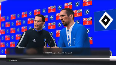 PES 2016 Hamburger SV Manager Player Sponsor Pack by fifacana
