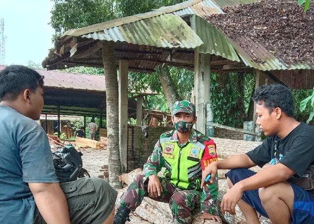 Personel Jajaran Kodim 0207/Simalungun Laksanakan Komunikasi Sosial Bersama Dengan Warga Binaan