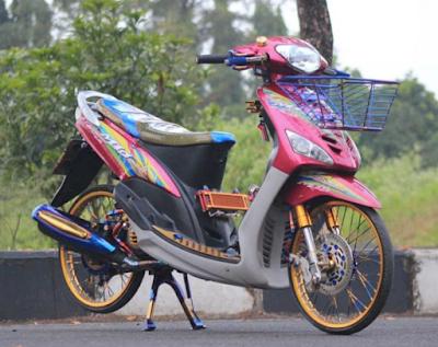Modifikasi Motor Mio Sporty AirBrush