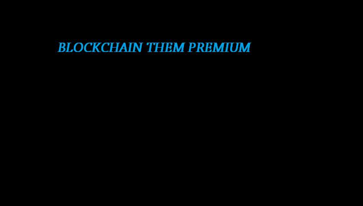 Blockchain Premium Responsive Blogger Theme - Responsive Blogger Template