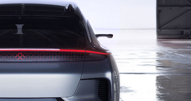 Faraday Future FF 91 rear blade