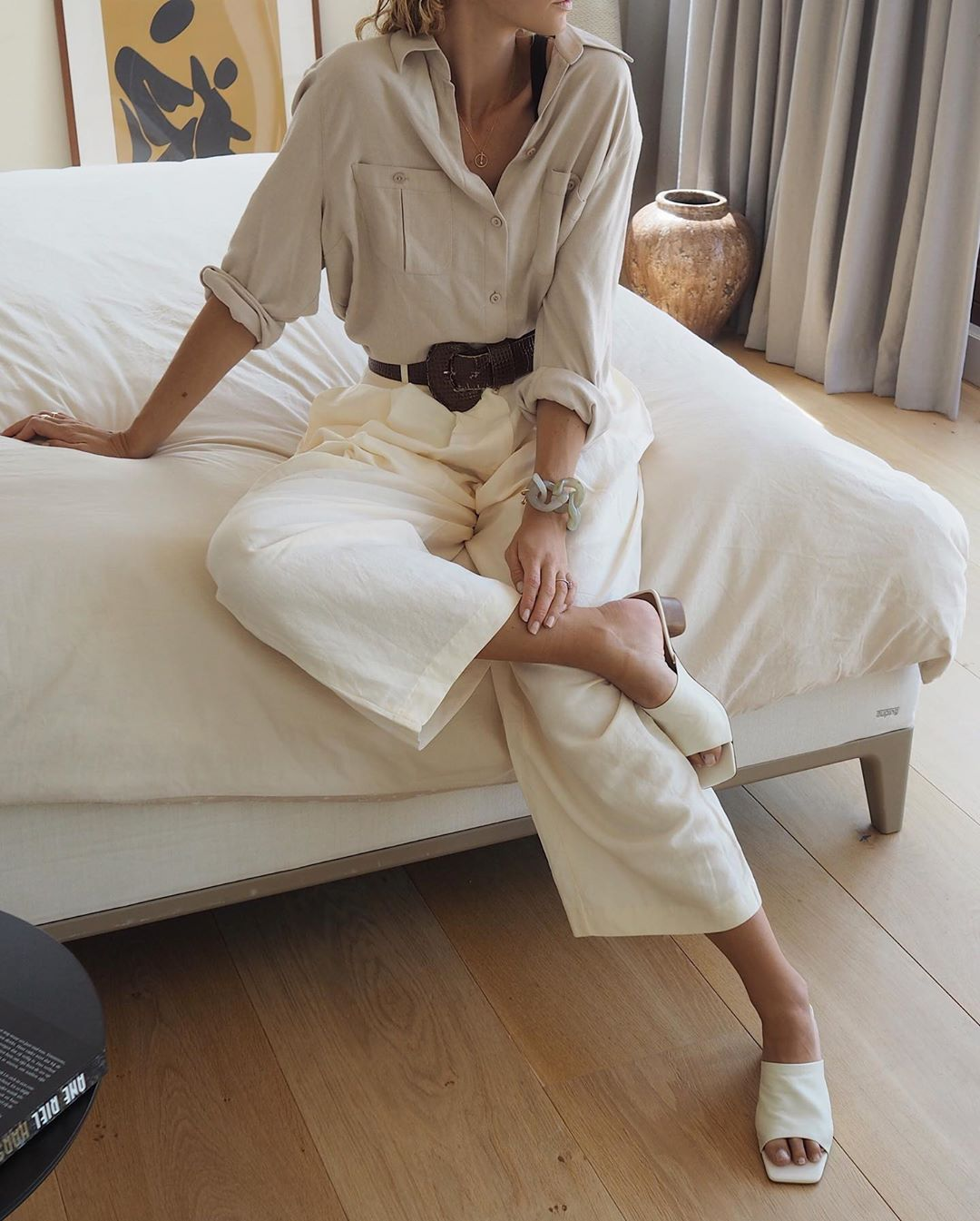 A Chic Way To Wear All Neutrals This Fall