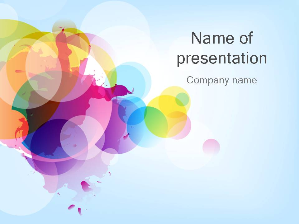 colorful powerpoint template 30