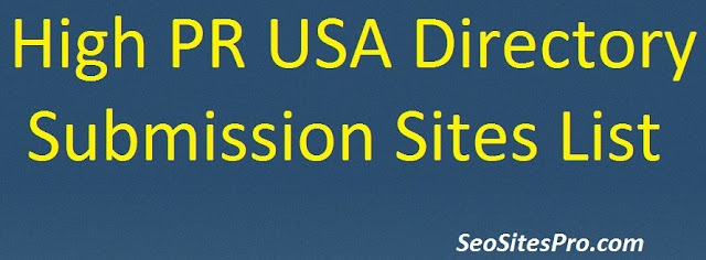 USA Directory Submission Sites List