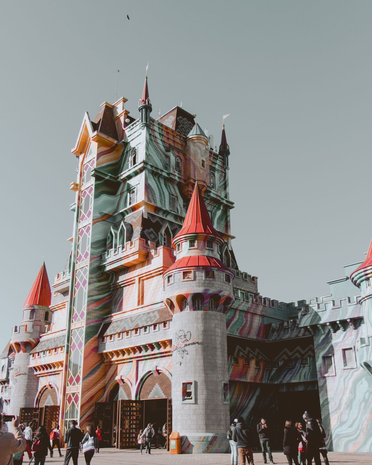 castelo parque Beto Carrero