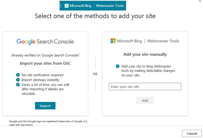 Anekatrium Mendaftar Ke Bing Webmaster Tool