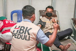 HBK PEDULI & PMI Gelar Donor Darah