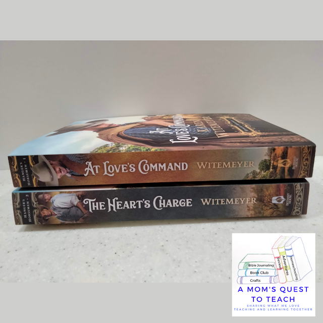 book binds of At Love's Command and The Heart's Charge