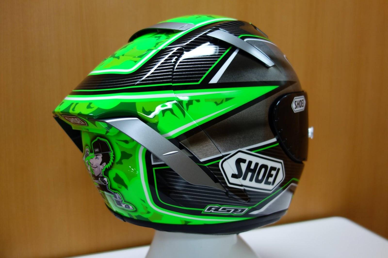 Racing Helmets Garage: Shoei X-Spirit III E.Laverty 2016 by ASD - painted by Shoei
