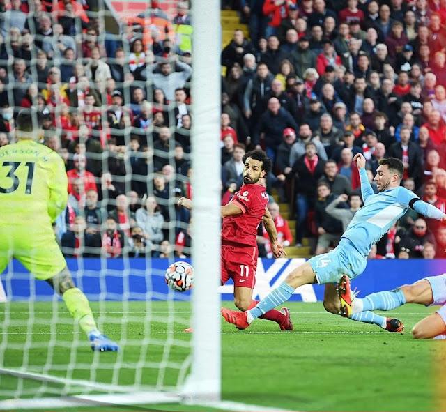 التعادل الإيجابي يحسم مباراة ليفربول أمام مانشستر سيتي بالدوري الإنجليزي
