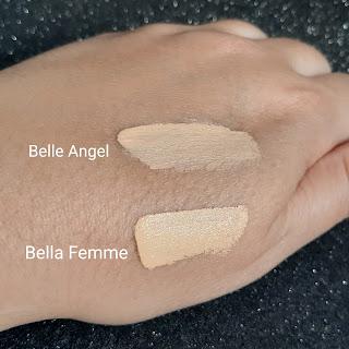 Qual o melhor corretivo Corretivo HD da Belle Angel ou Skin Cover da Bella Femme resenha dicas da tia textura