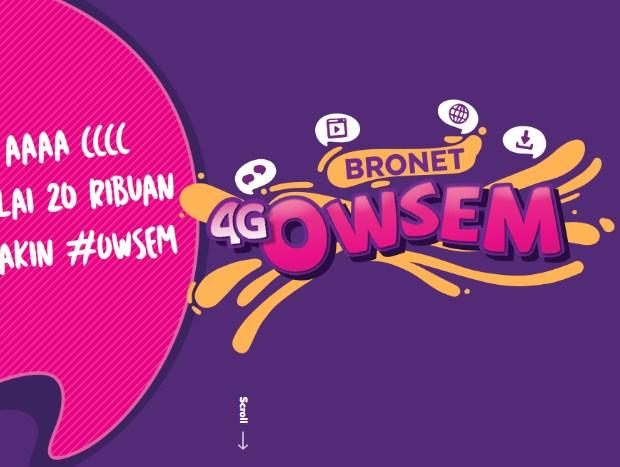 Paket Kuota Internet AXIS 4G Owsem: Harga, Cara Daftar dan Apa itu