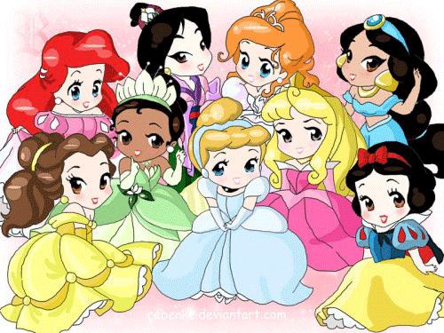 Dibujos De Bebes Disney Para Imprimir: Pequeños Personajes Disney Para Imprimir