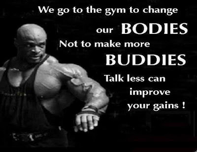 Gym Gains Quotes
