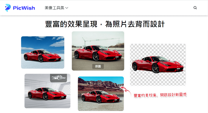 PicWish 線上圖像工具集,免費照片去背、移除水印可輸出大尺寸(4Kx4K)圖片