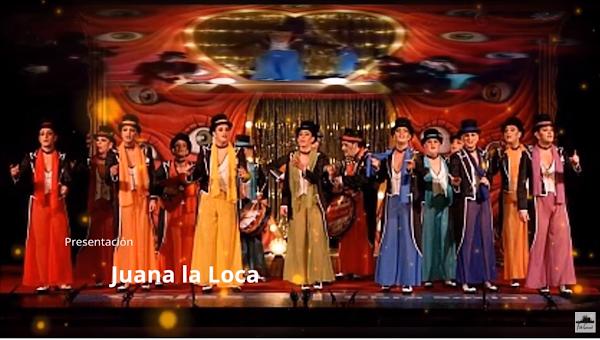 """Presentación con Letra Comparsa """"Juana la Loca"""" de Constantino Tovar Verdejo (2011)"""