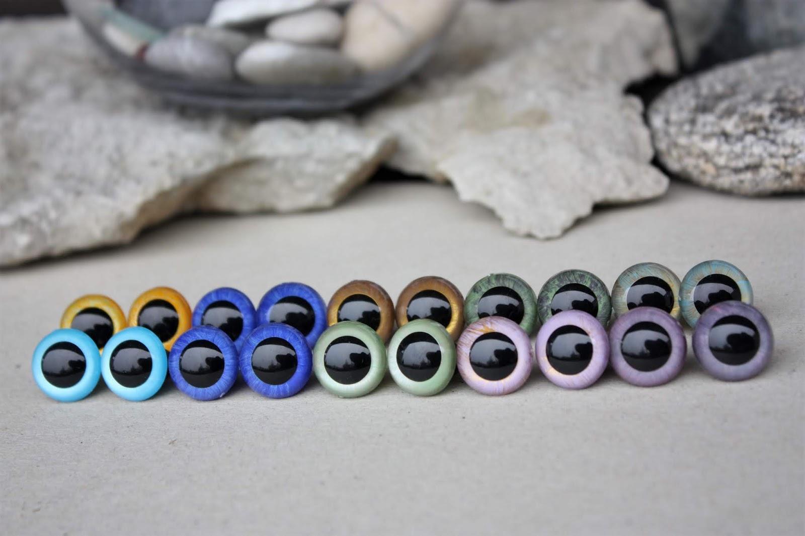 Happyamigurumi: Hand Painted Safety Eyes for Amigurumi   1066x1600