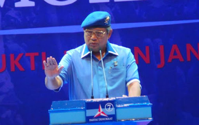 SBY : Jika ingin Negara Aman dan Maju Maka Pilihlah Agus-Sylvi