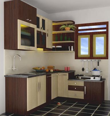desain dapur minimalis sederhana mungil dan rapi | desain