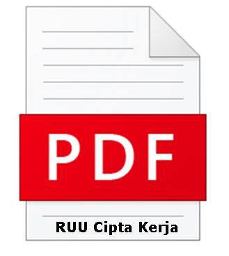 Download RUU Cipta Kerja PDF 812 Halaman