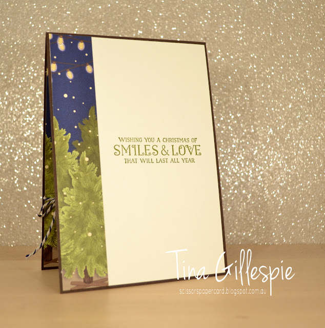 scissorspapercard, Stamping' Up!, Art With Heart, Heart Of Christmas, Greatest Part Of Christmas, Night Before Christmas DSP, Stitched Shapes Dies, Shimmery Crystal Effects