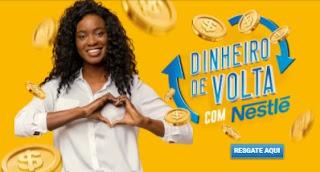 Cadastrar Nestlé Dinheiro de Volta 2020 Reembolso