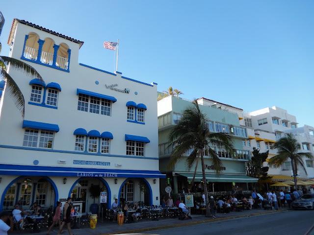Hoteles en la calle Ocean Drive, South Beach Miami