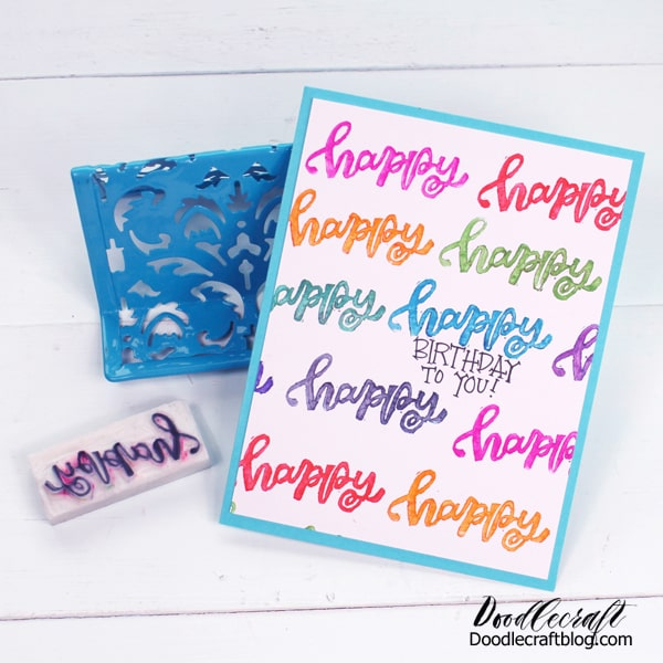 How to Make a Rubber Stamp from an Eraser DIY