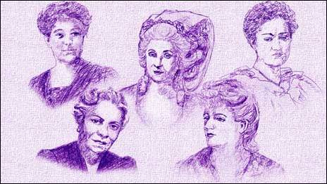 Leokadiya Kashperova, Marianna Martines, Florence Price, Augusta Holmès and Johanna Müller-Hermann