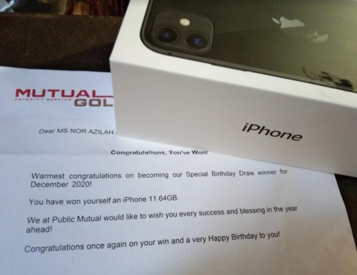 iphone baru, pengguna iphone, hadiah istimewa, birthday
