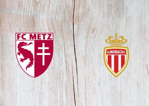 Metz vs Monaco -Highlights 30 August 2020