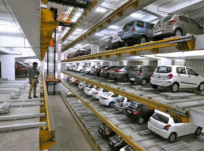 Automatic Car Park System