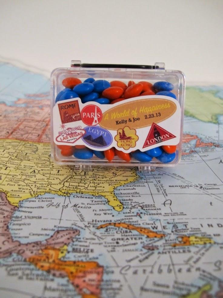 Travel Wedding Favors