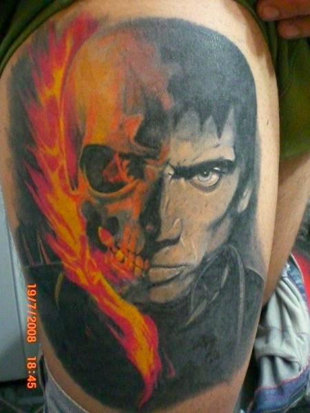 55 Tatuagem Motoqueiro Fantasma Mais Tattoo