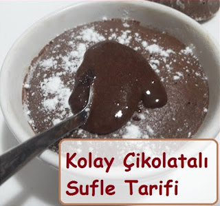 Kolay Çikolatalı Sufle Tarifi
