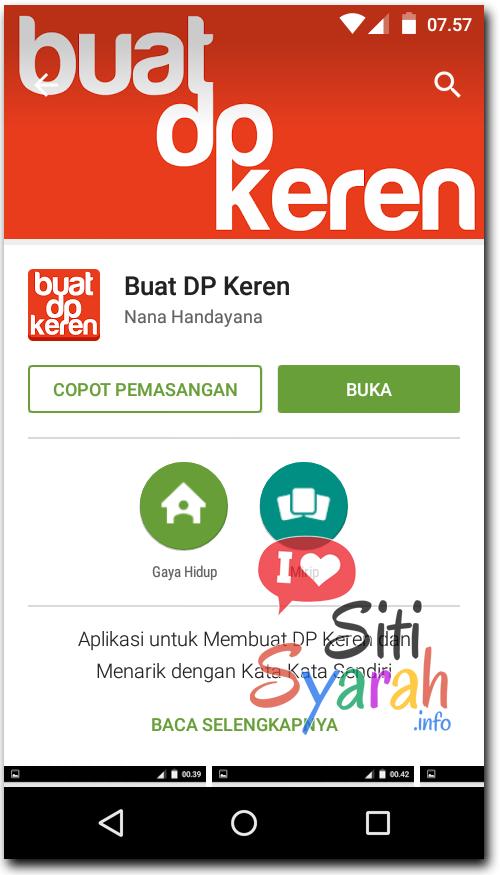 Cara Membuat Sendiri DP BBM di Android