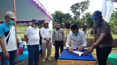 Wakil Bupati Lotim Tanam Alpukat Disepanjang Jalan Desa Bebidas