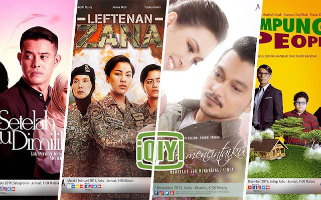 Anda Kini Tonton Dan Strim Drama Melayu Secara Percuma Di Aplikasi IQIYI