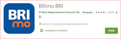 """MediaWeb4U-Selamat malam para pengunjung dimana saja anda berada semoga tak ada yang berkurang segala sesuatunya, Amin. Setelah berbagi tentang """"Biografi Zifa"""" Pada kesempatan malam ini mimin akan shere tentang """"Cara Membuka Rekening Bank Rakyat Indonesia (BRI) Dan Mengaktifkan Aplikasi BRImo"""". Sebelum saya menjelaskan bagaimana cara membuka rekening Bank Rakyat Indonesia (BRI) dan menggunakan layanan aplikasi BRImo-nya, Alangkah lebih baiknya untuk memahami definisi dari Bank itu sendiri, Hehe. Bank adalah sebuah badan usaha yang menghimpun dana dari masyarakat dalam bentuk simpanan dan menyalurkannya kepada masyarakat dalam bentuk kredit dan atau bentuk-bentuk lain dengan tujuan untuk meningkatkan taraf hidup orang banyak (Undang Undang RI No. 10 Tahun 1998 tentang Perbankan (pasal 1 ayat 2.  Sedangkan menurut Wikipedia definisi bank adalah sebuah lembaga intermediasi keuangan, umumnya didirikan dengan kewenangan untuk menerima simpanan uang, peminjaman uang, dan menerbitkan promes atau banknote.   Ok, kita langsung saja ya ke Cara Membuka Rekening BRI Dan Mengaktifkan Aplikasi BRImo, Pertama tana sobat siapkan Kartu Tanda Penduduk (KTP) asli dan foto copy-nya, lalu siapkan uang minimal Rp. 110.000, lebih banyak lebih baik, untuk apa uang segitu? yang Rp. 100.000 buat menabung, minimal segitu nominalnya, dan yang Rp. 10.000 untuk membayar pembuatan rekening dan mengaktifkan aplikasi BRIMO serta pembuatan ATM. Setelah siap hal-hal diatas sobat silahkan menuju Bank Rekening Bank Rakyat Indonesia (BRI) terdekat, tapi waktunya jangan hari sabtu dan minggu ya dan jangan di malam hari, hehe.   Setelah sampai ke Bank, sobat langsung ambil kartu antriannya lalu silahkan sobat tunggu sampai dipanggil oleh CS, sambil menunggu dipanggil CS silahkan sobat unduh terlebih dahulu Aplikasi BRImo-nya di Playstore, tulis saja BRImo, ingat ya bukan lagi BRI Mobile , sudah diganti dengan BRImo, Seperti dibawah ini aplikasi BRImo-nya     BRImo merupakan Aplikasi Keuangan Digital Bank """